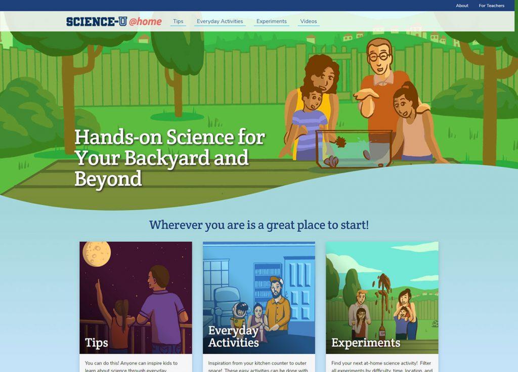 Science-U @Home