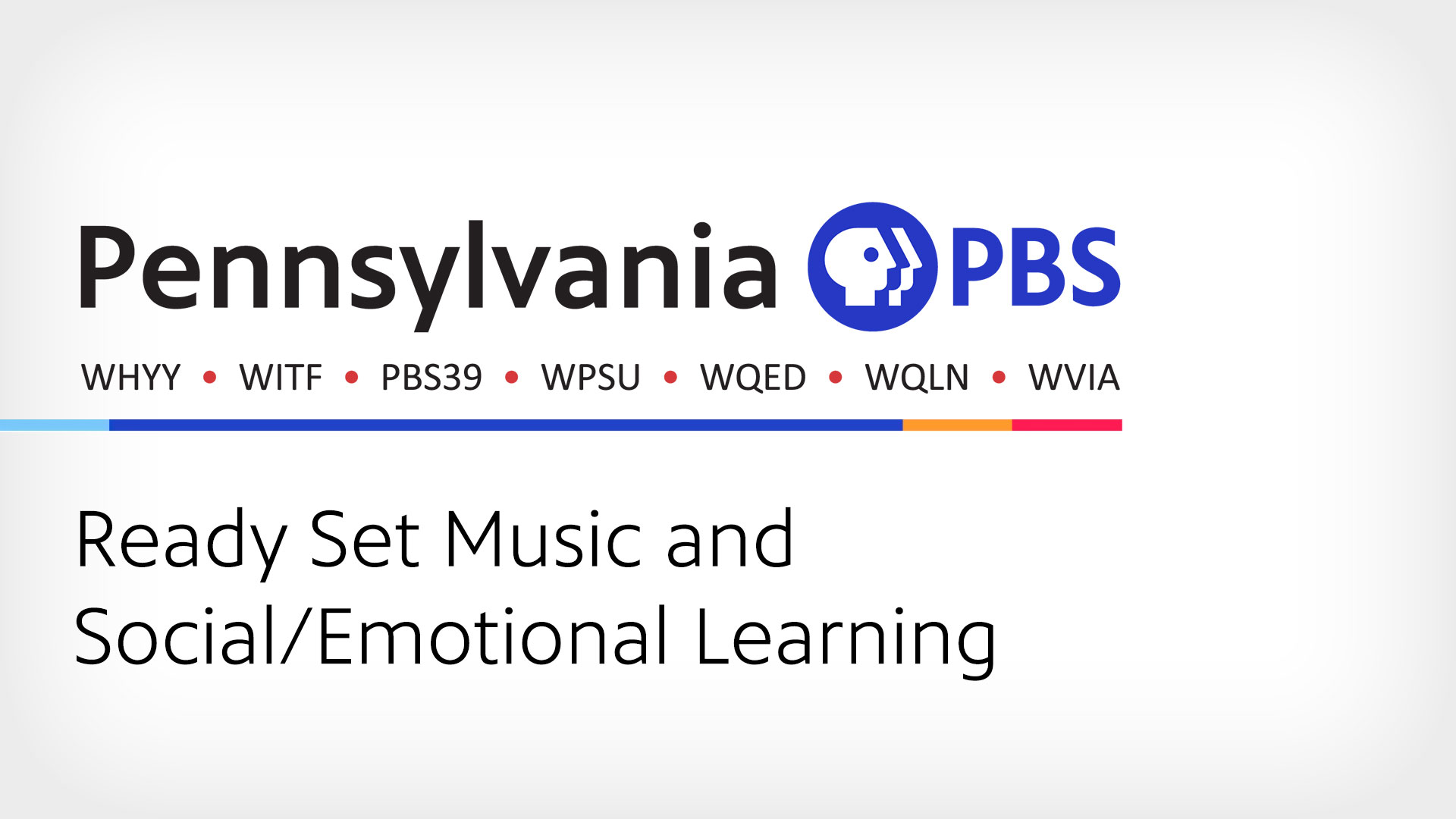 Ready Set Music and Social/Emotional Learning