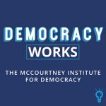 Democracy Works podcast logo