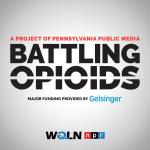 Battling Opioids podcast logo