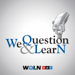 We Question & Learn podcast logo