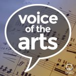 Voice of the Arts podcast logo