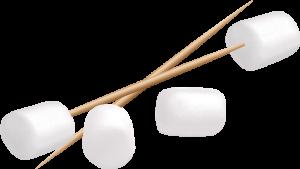 Mini-Marshmallows and Toothpicks